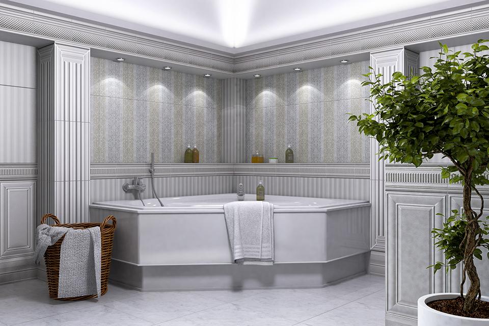 Дизайн-проект интерьера ванной комнаты. г.Тячев Вид-02