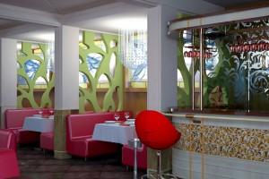 Проект ресторана с террасой. г.Тячево