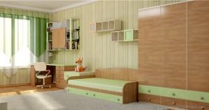 Визуализация интерьера детской комнаты