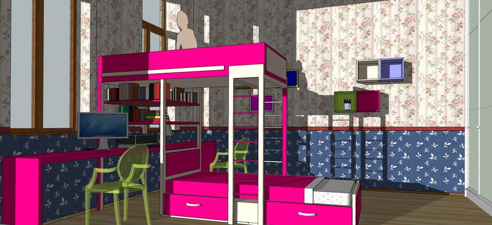 Проект детской комнаты. г.Ужгород