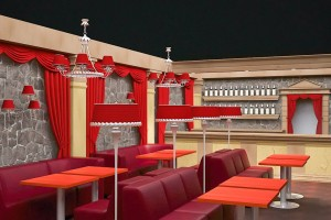 Дизайн проект клуба «Нео» г.Виноградов