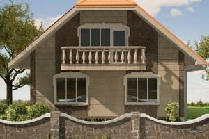 Дизайн проект фасада.