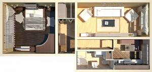 Дизайн проект двухкомнатной квартиры г.Свалява