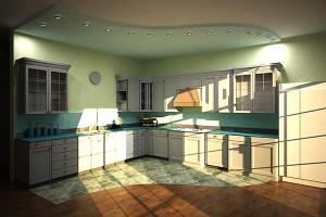 Дизайн проект кухни частного дома. г.Мукачево
