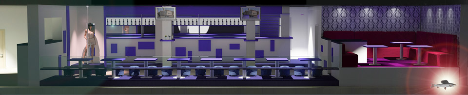 Дизайн проект ночного клуба Night Hunter