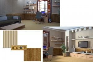Проект дизайна интерьера детской комнаты