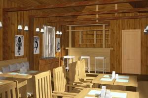 Проект кафе «Квелле Поляна»