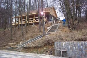 Строительство кафе «Квелле Поляна»