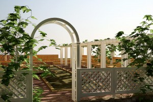 Проект террасы «Quelle Polyna» п.Поляна