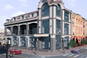 3D моделирование торгового центра г.Ужгород