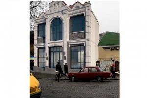Проект торгового центра .г.Ужгород
