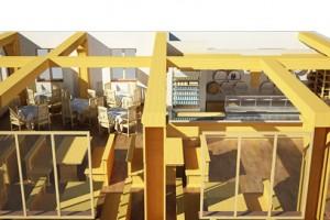 Дизайн проект кафе турбазы «Ведмежа»