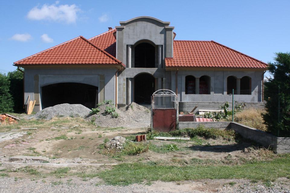 Дизайн проект ворот и забора. г.Виноградов. Фотография объекта.