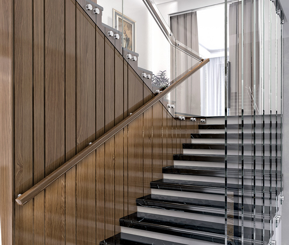 Дизайн проект сходів. Вид-02 м.Мукачево