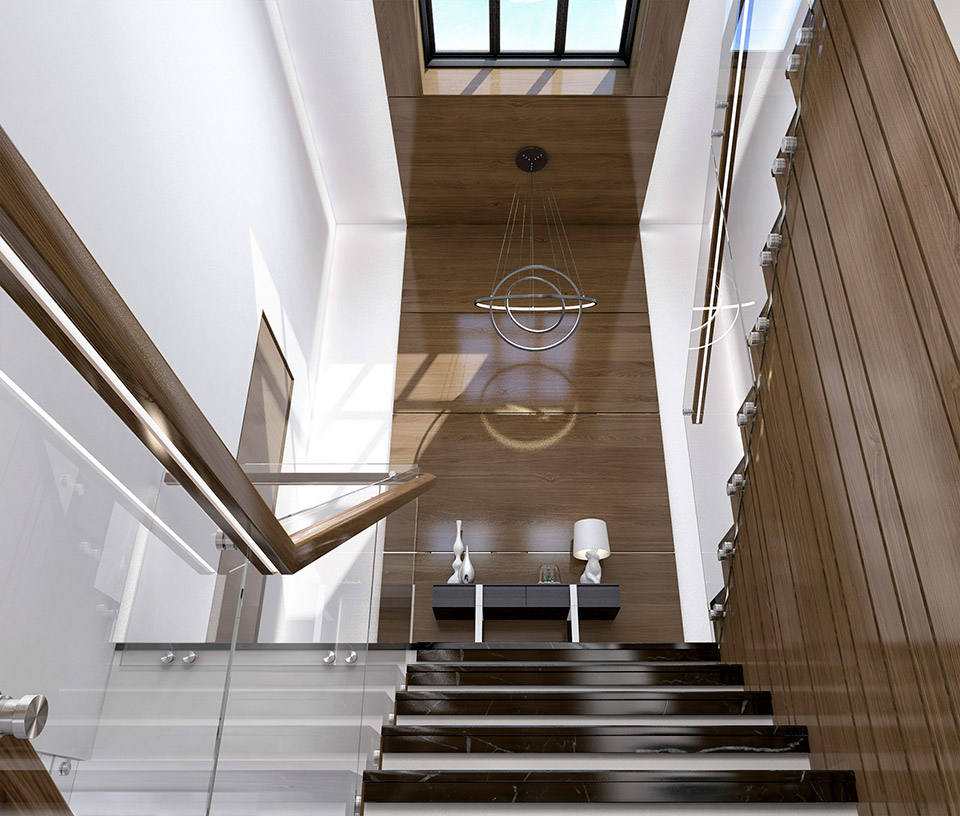 Дизайн проект сходів. Вид-04 м.Мукачево