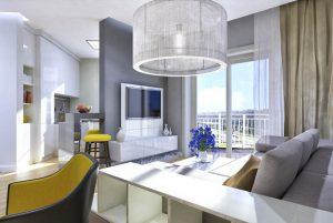 Дизайн проект интерьера двухкомнатной квартиры. г.Ужгород