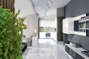 Дизайн проект интерьера мансардного этажа. г.Ужгород