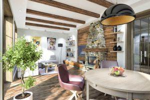 Дизайн проект интерьера гостиной комнаты. г.Ужгород