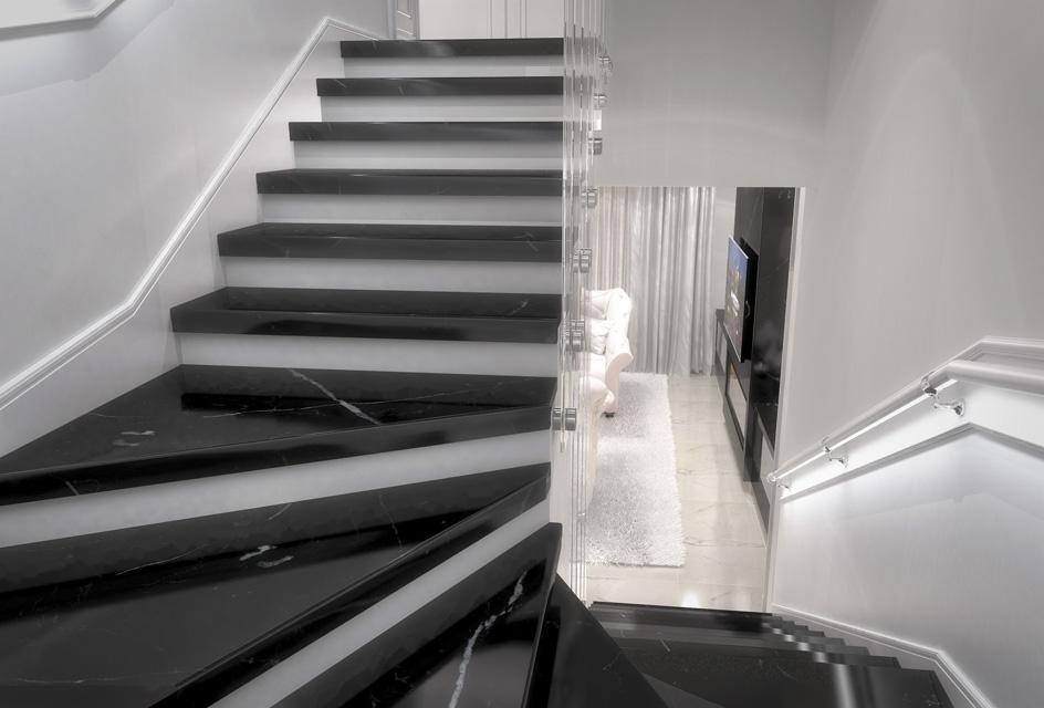Дизайн проект інтер'єру кухні-вітальні. Вид-10