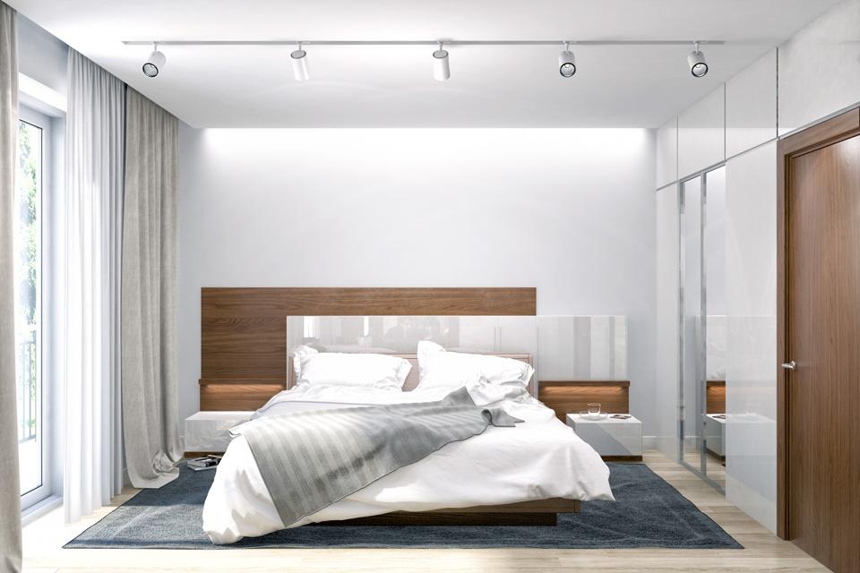 Дизайн-проект интерьера спальни. г.Ужгород Вид-01