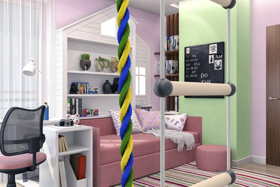 Дизайн-проект интерьера детской комнаты. г.Ужгород Вид-04