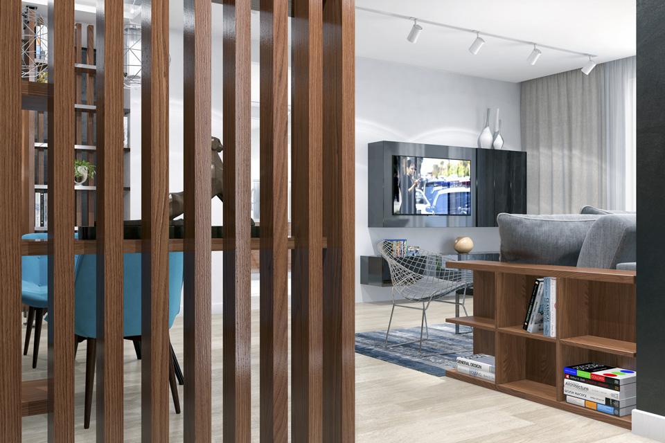 Дизайн-проект интерьера гостиной комнаты. г.Ужгород Вид-05