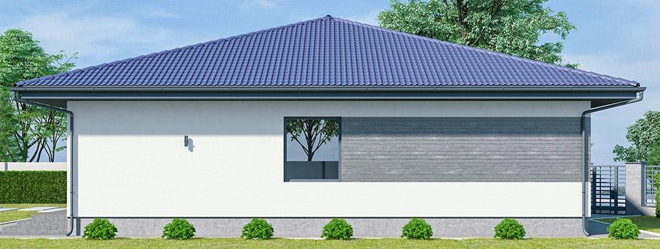 Проект облаштування фасаду. м.Ужгород Вид-03