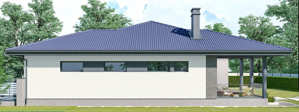 Проект облаштування фасаду. м.Ужгород Вид-04
